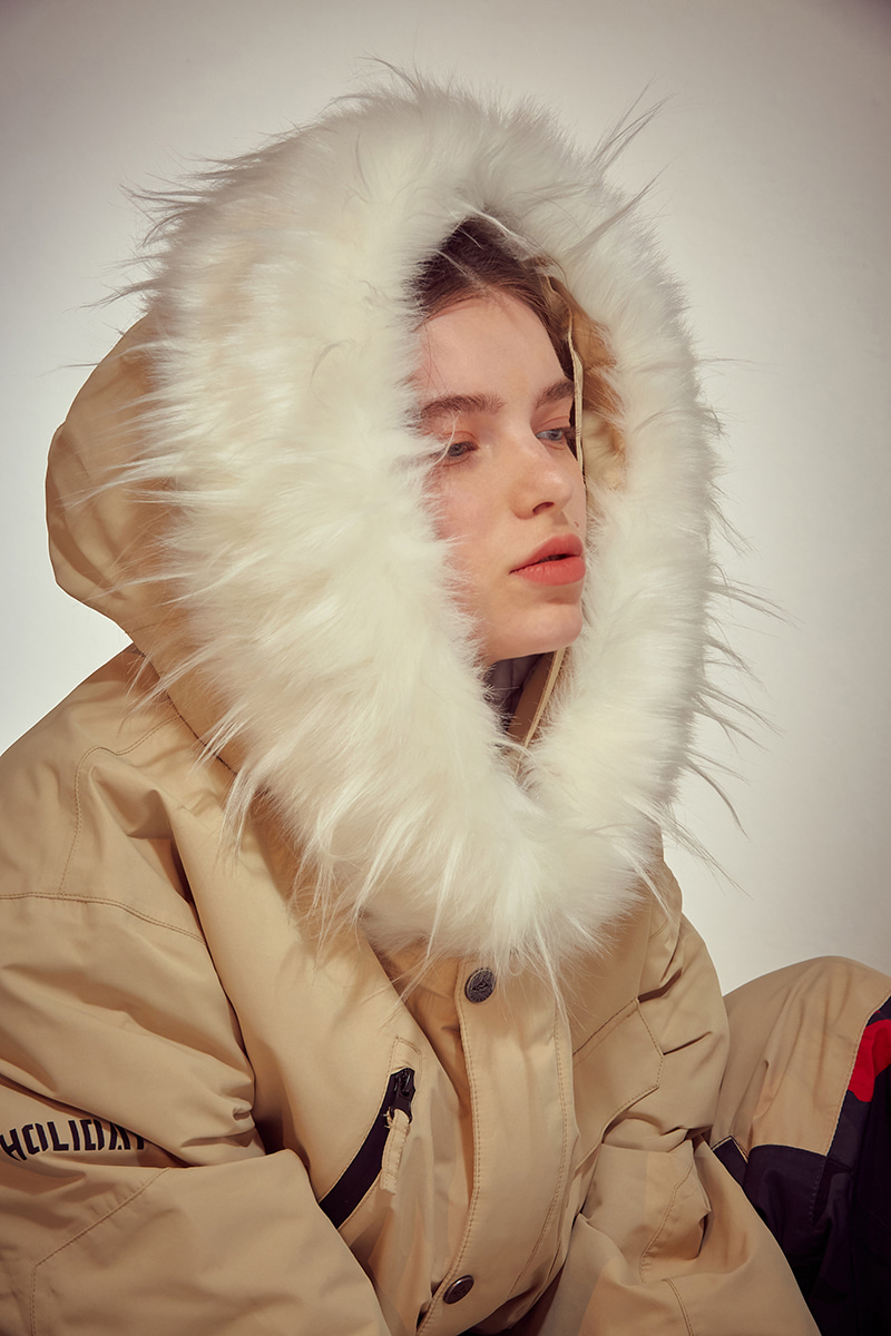 VOYAGE padded jacket - sand beigeHOLIDAY OUTERWEAR