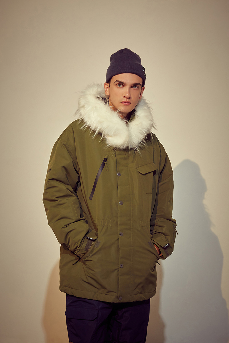 VOYAGE padded jacket - olive greenHOLIDAY OUTERWEAR