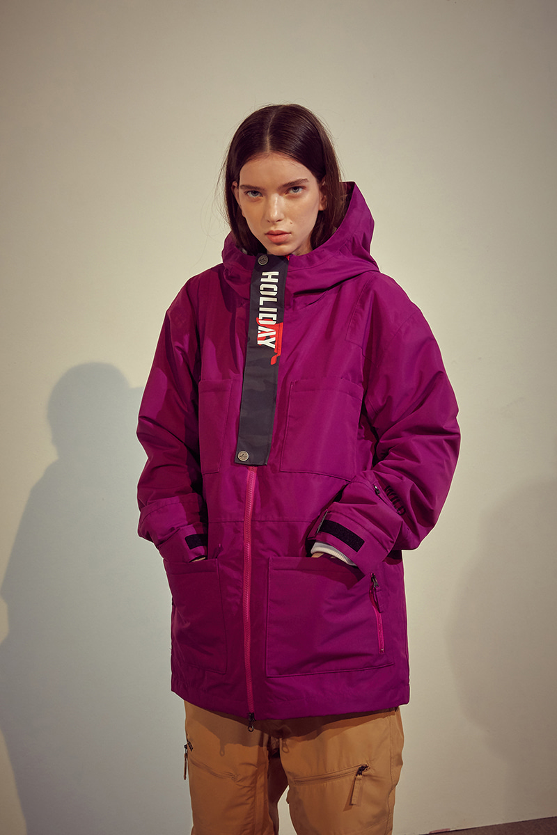 ROVER jacket - purpleHOLIDAY OUTERWEAR