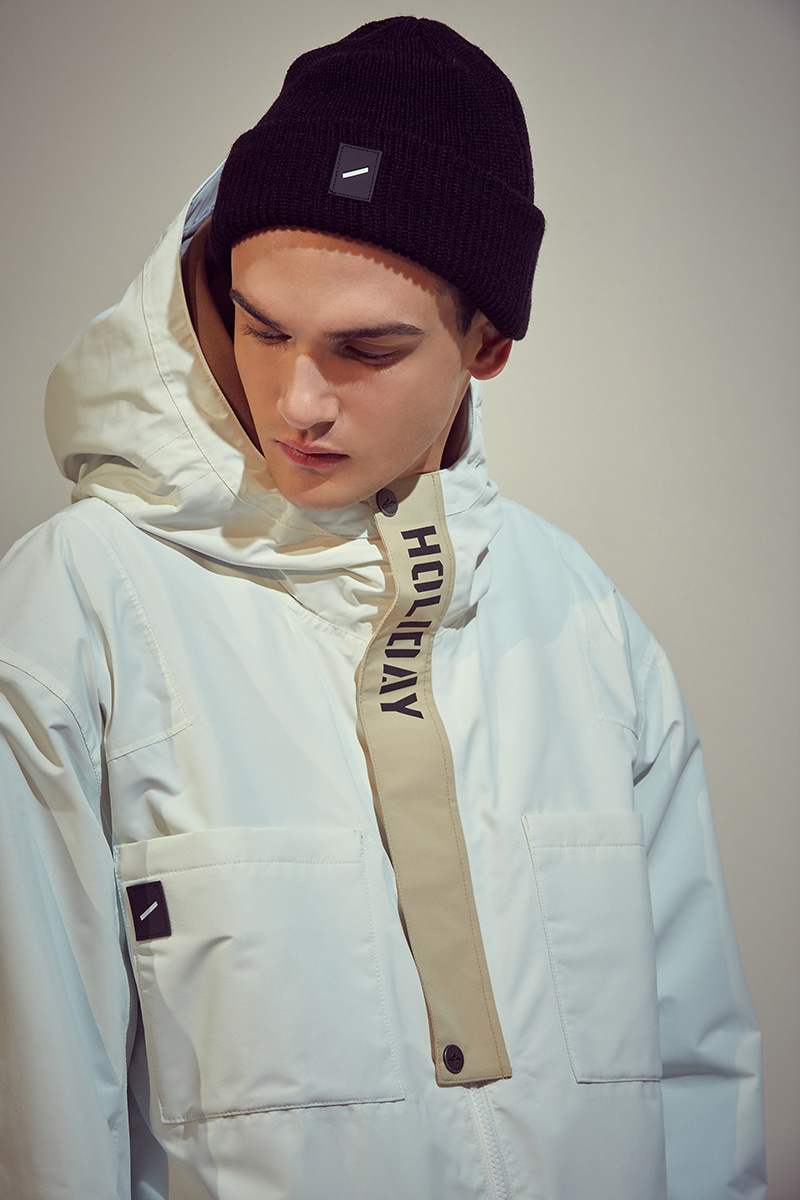 ROVER jacket - whiteHOLIDAY OUTERWEAR