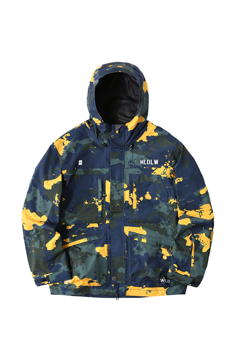 SCOUT 2L jacket - camouflageHOLIDAY OUTERWEAR