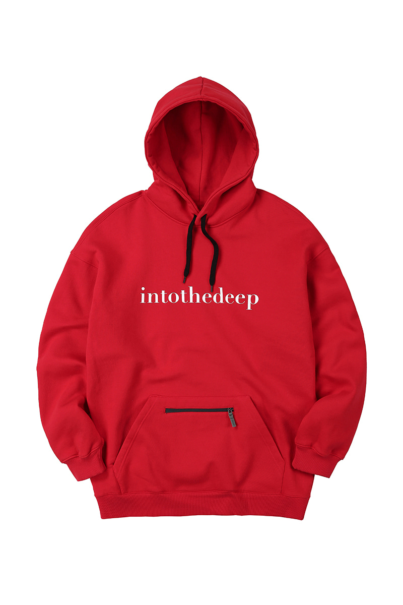 ESSENTIAL hoodie - redHOLIDAY OUTERWEAR