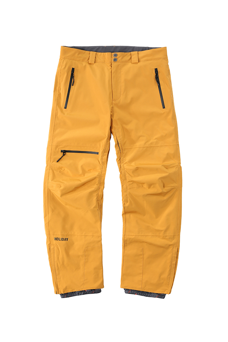 STORM 2L pants - mustardHOLIDAY OUTERWEAR