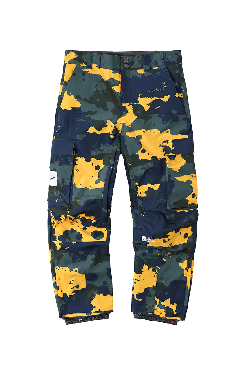 SCOUT 2L pants - camouflageHOLIDAY OUTERWEAR