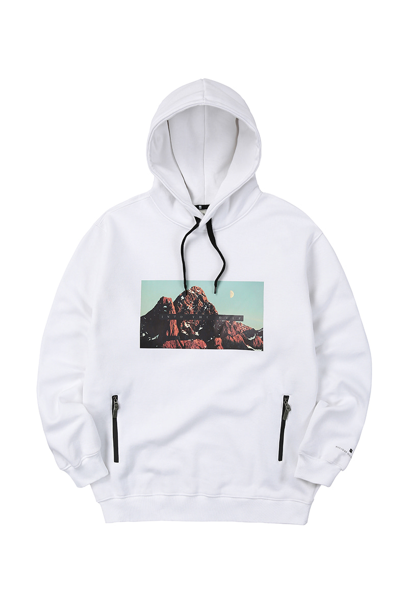 DAYBREAK hoodie - whiteHOLIDAY OUTERWEAR